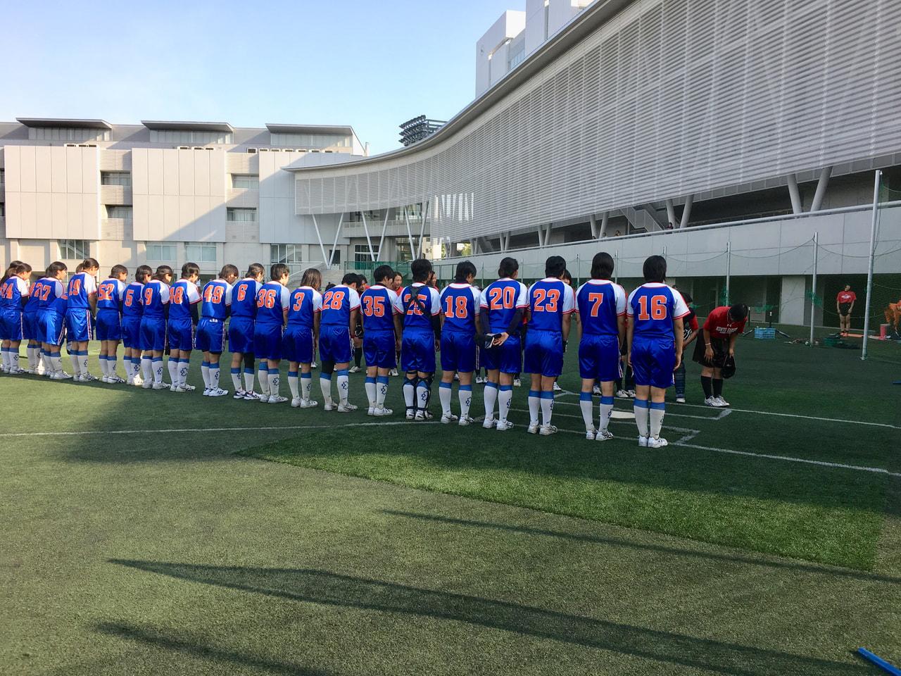 【女子】練習試合 vs光明相模原高校