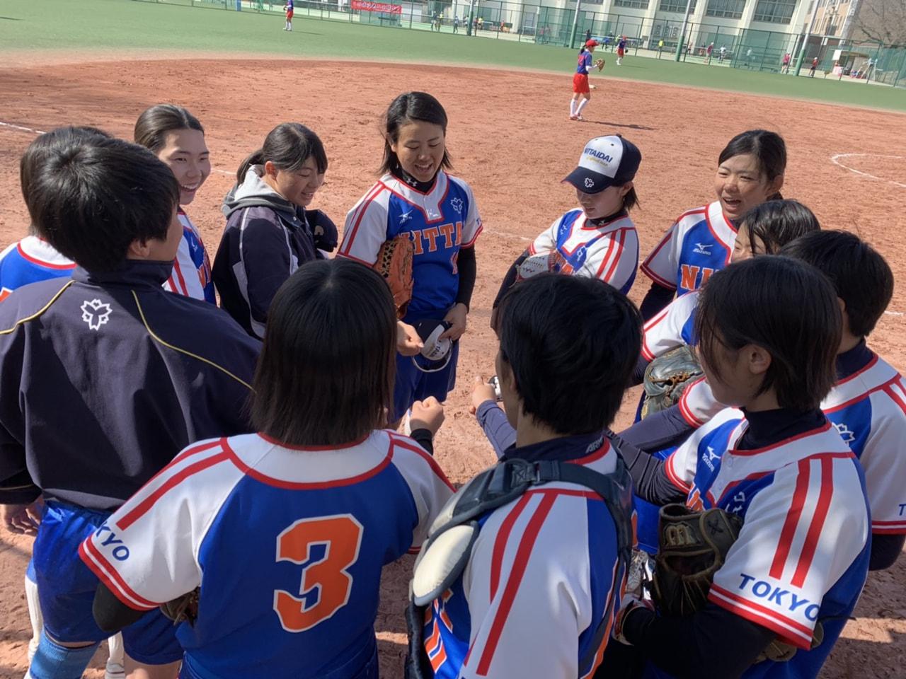 【女子】練習試合 vs東京女子体育大学