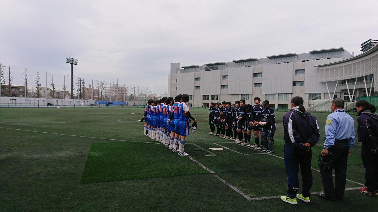 【女子】練習試合 vs日本女子体育大学