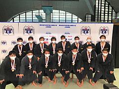 【水球ブロック】第96回日本選手権大会水泳競技〈水球競技〉結果報告