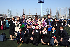 【飛込】卒業式