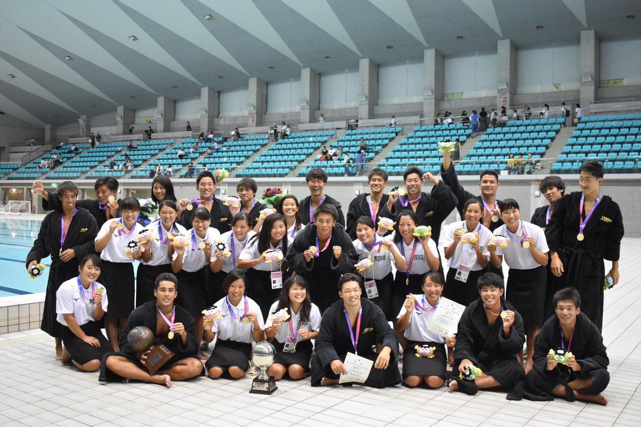 【水球ブロック】第95回日本学生選手権大会水泳競技大会〈水球競技〉結果報告