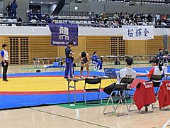 秋季東日本学生レスリング選手権 救護 2日目