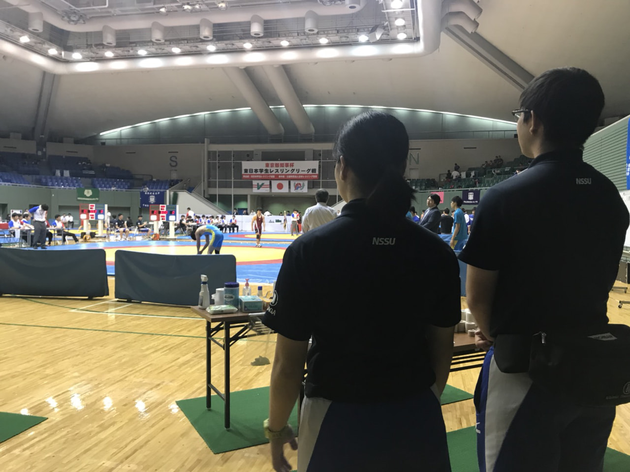 東日本レスリングリーグ戦 2日目