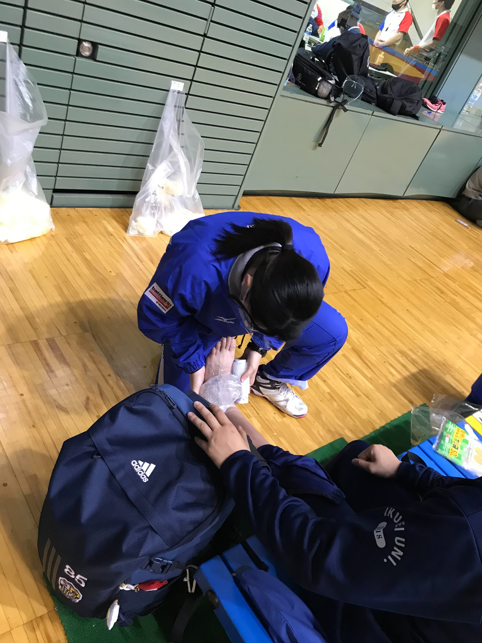 東日本レスリング秋季学生選手権大会 1日目