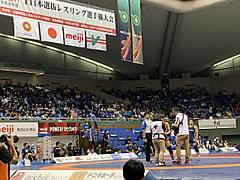 明治杯 全日本選抜レスリング選手権大会 4日目