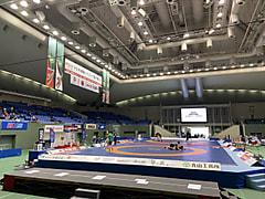 令和3年度明治杯全日本レスリング選手権大会 2日目