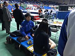 レスリング天皇杯全日本選手権大会4日目
