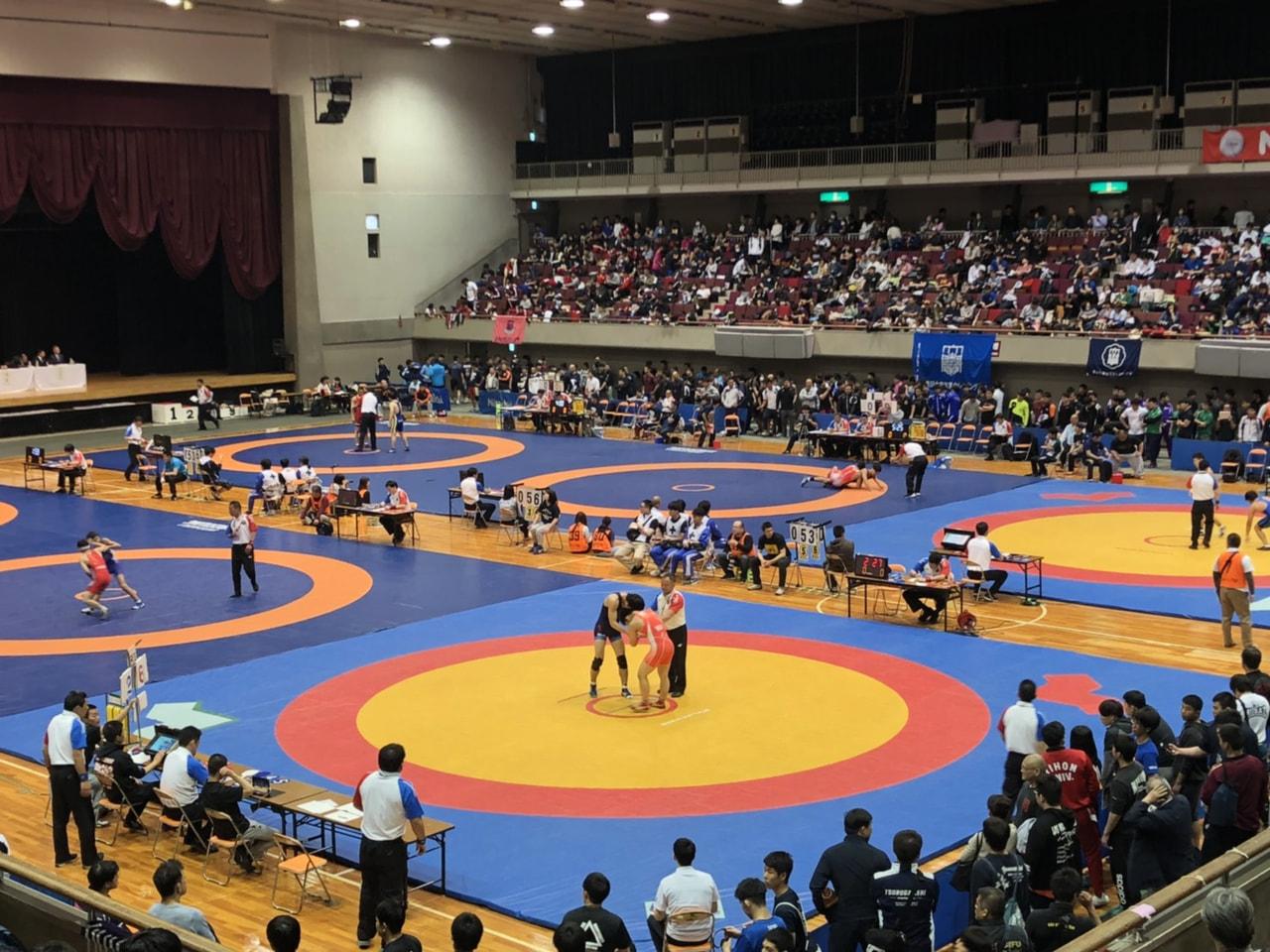 JOC杯 全日本ジュニアレスリング選手権大会 1日目