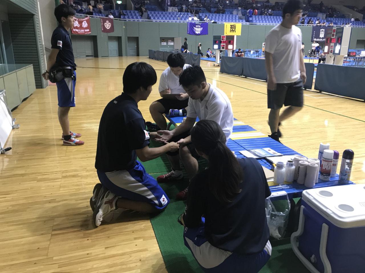 東日本レスリングリーグ戦3日目