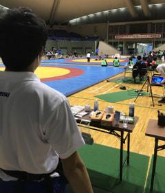 全日本大学グレコローマン選手権大会 2日目