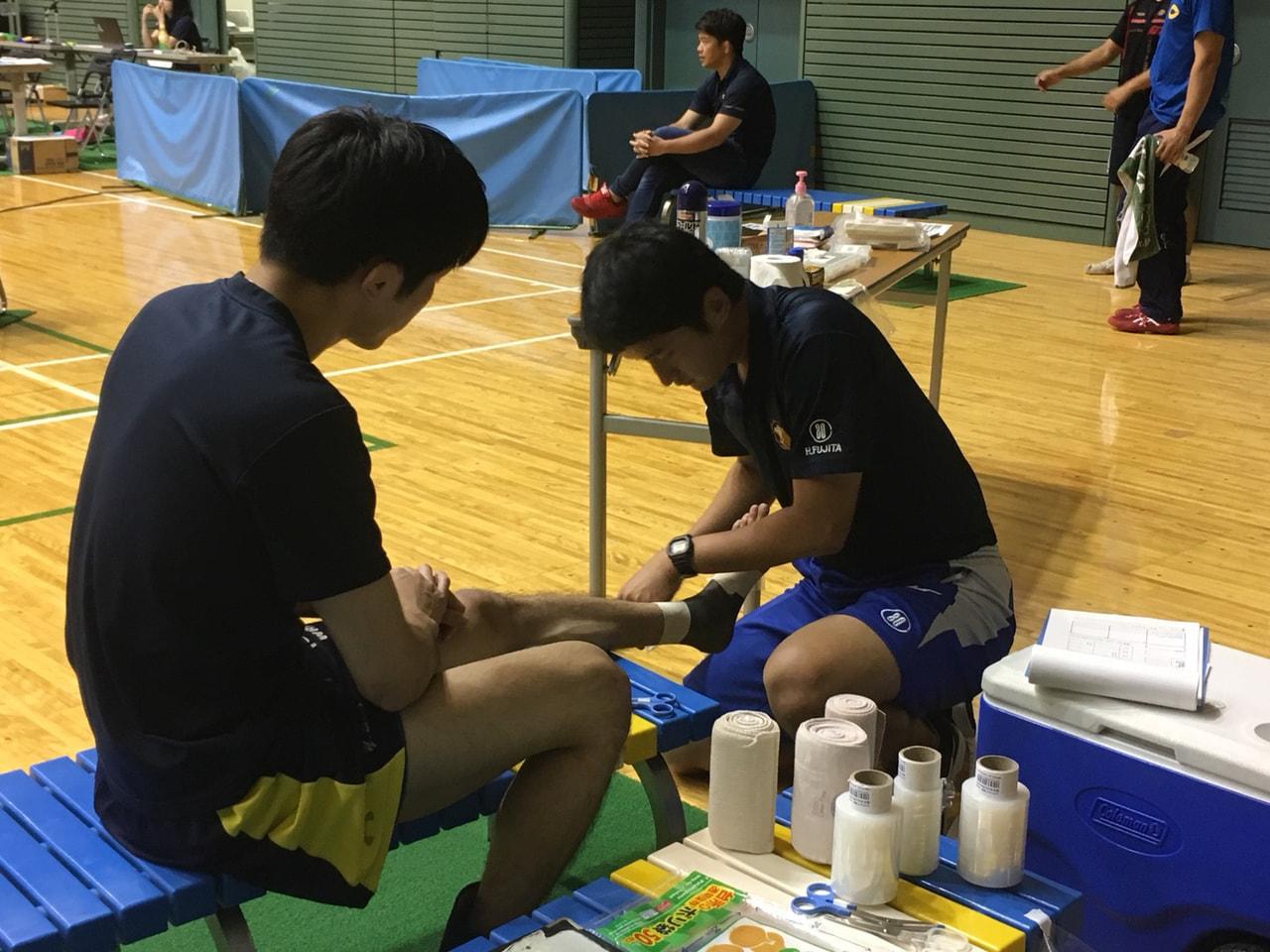 レスリング全日本学生選手権1日目