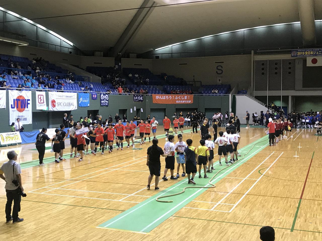 2019 全日本ジュニア・ユース綱引選手権大会