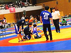 東日本レスリング秋季選手権大会 2日目