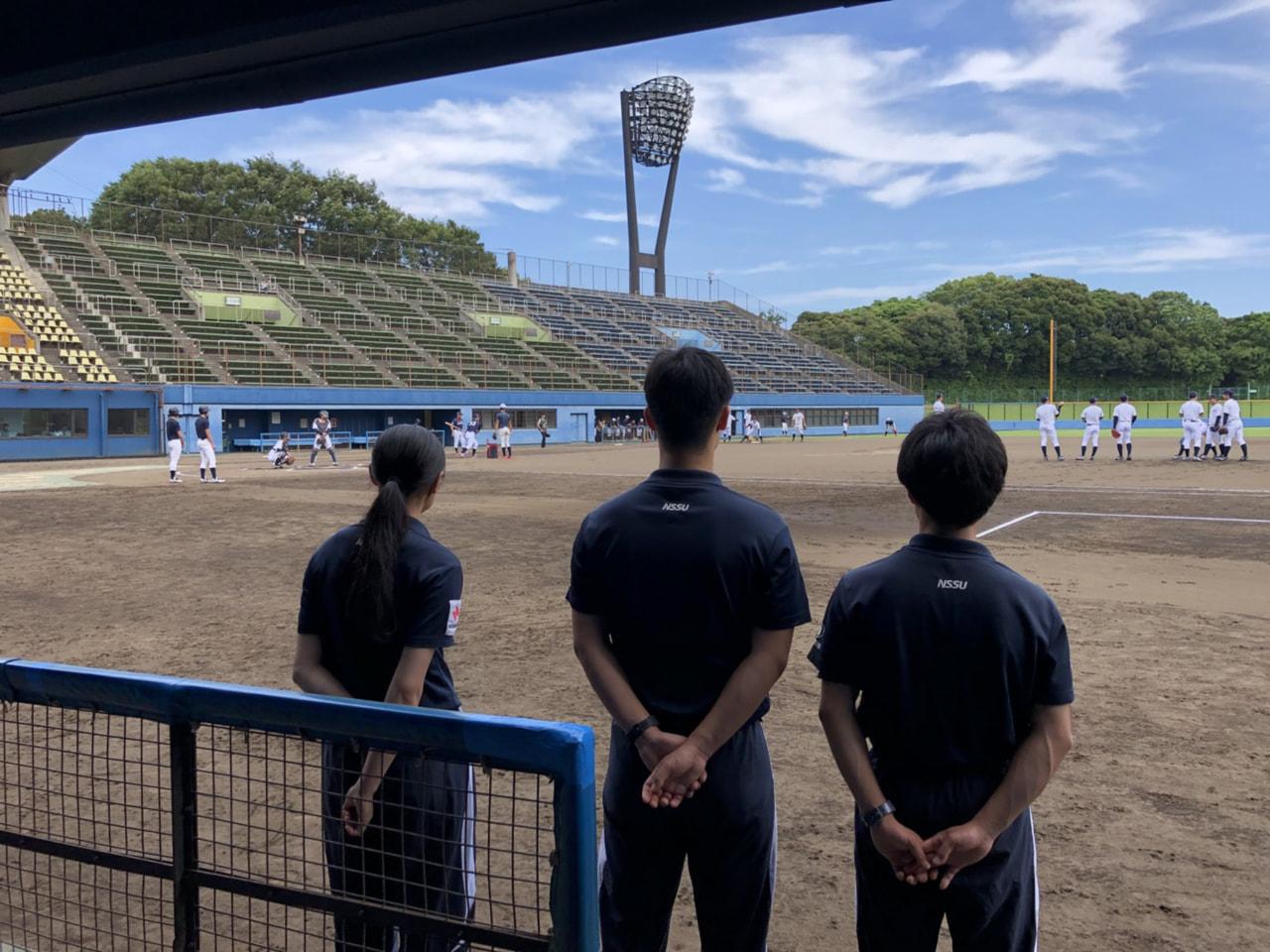 侍JAPAN大学代表直前合宿1日目
