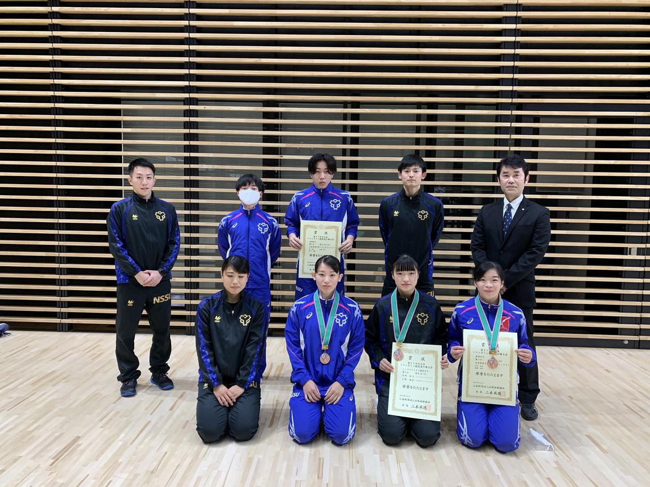 第57回全日本トランポリン競技選手権大会