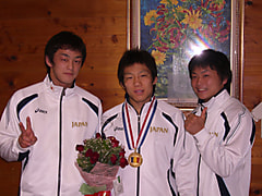 2007年 アジアジュニア選手権大会 結果!